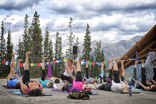 Yoga on the Mountain (Copper Mountain Resort/Facebook)