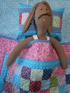 Sweet dreams, little rabbit!