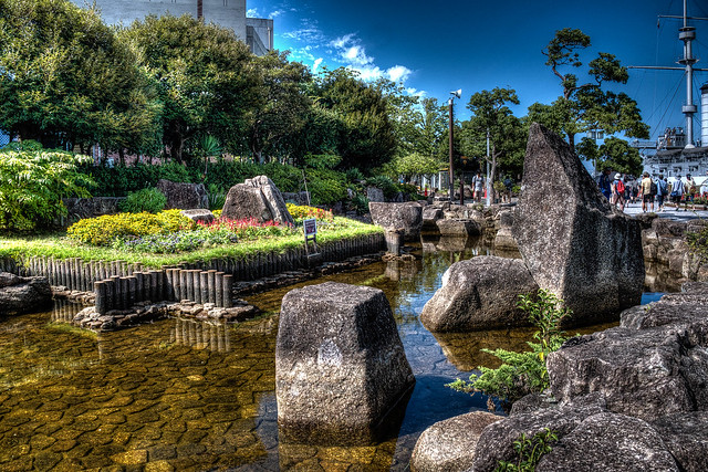 Mikasa Park in Yokosuka