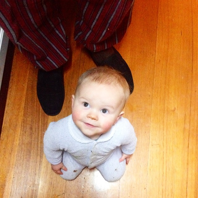 Lately it's been so hard to put this guy to bed at 7pm, not because he won't go to sleep (the 'lie down' method is my savior - he sleeps for 13hrs straight now!) but because I just want to keep playing with him. He is my little friend #babyjagoe