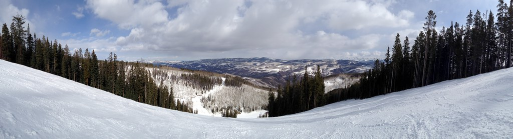 Panorama from the top of Beaver Creek