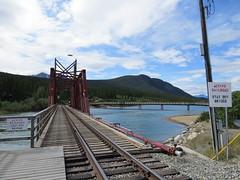 Stay off this bridge (in Carcross, Yukon)