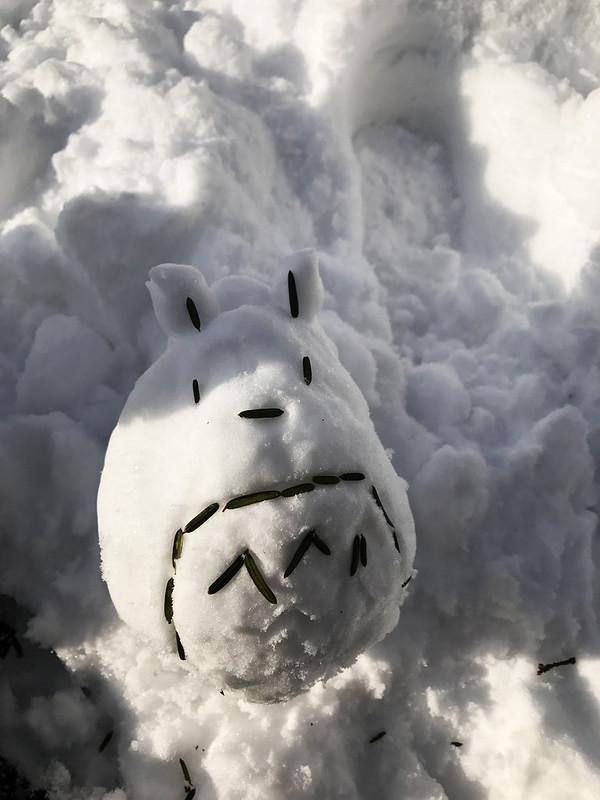 Snow Totoro, Mount Moiwa