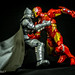 Batman vs Iron Man by Gonz Ferolino