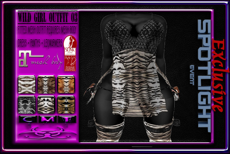 [TD] WILD GIRL OUTFIT 03 - SecondLifeHub.com