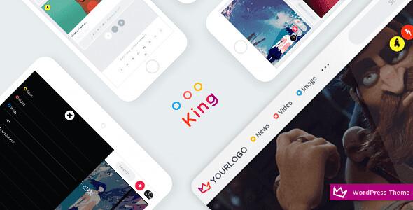 King WordPress Theme free download