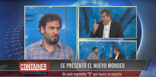Mauro Osorio en Container TV