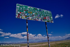 But the stars look like home! Take me home! ? Extraterrestrial highway outside Rachel Nevada
