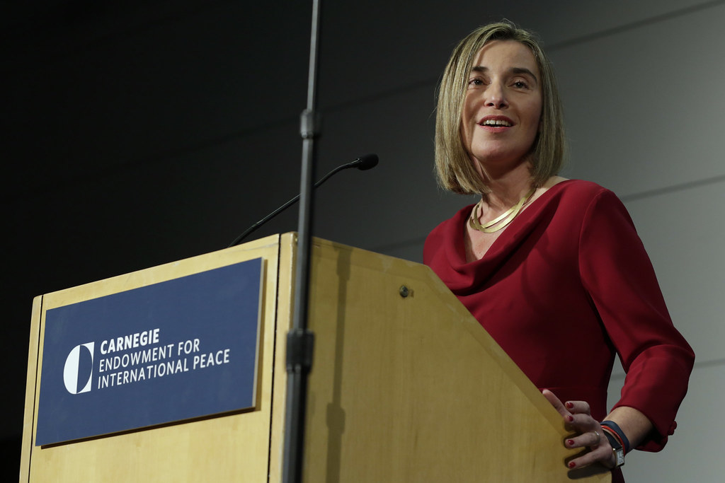 Federica Mogherini visits the US