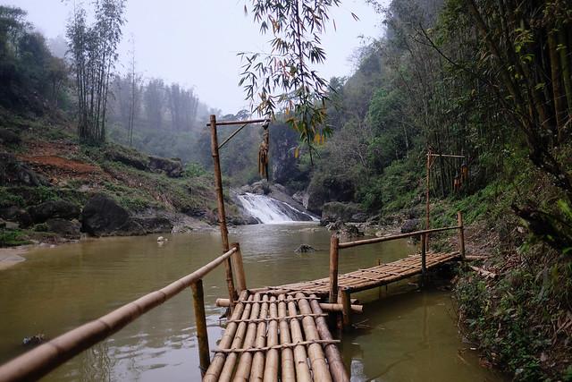 bridge Vietnam Sa Pa Cat Cat Village