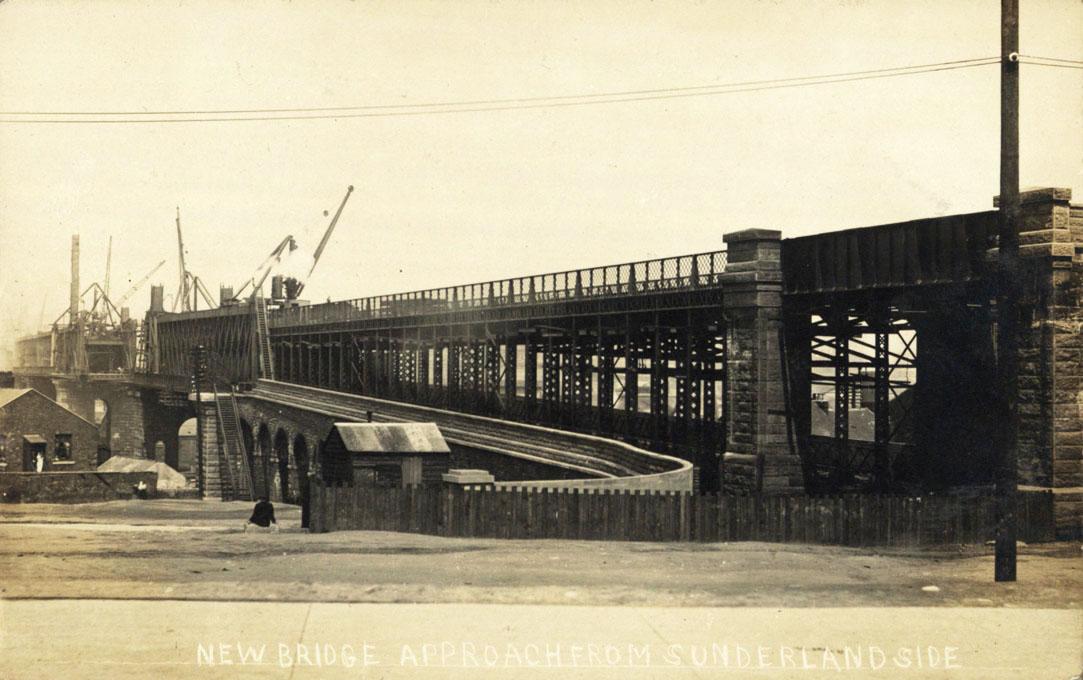 Queen Alexandra Bridge, Sunderland nearing completion