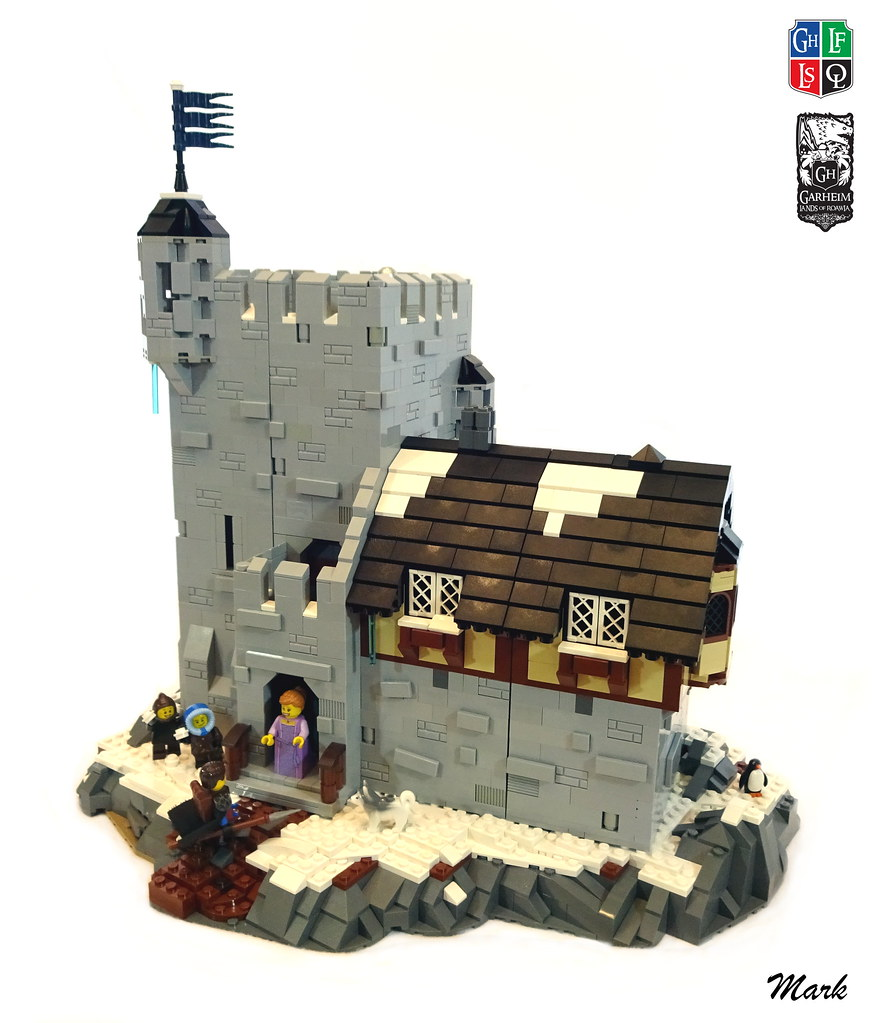Darton Manor (custom built Lego model)