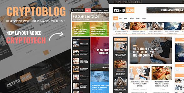 Cryptoblog WordPress Theme free download