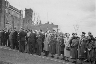 Canadian Corps veterans on Vimy Day in Edmonton, 9 April 1938