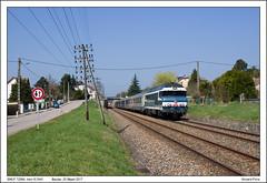 SNCF 72084 - Baulay - IC1641 (25-03-2017)
