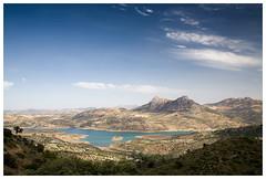 Zahara De la Sierra, Andalucia, Spain.