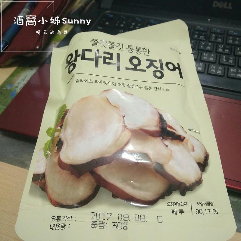 韓國零食-章魚腳片