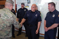 Lt. Gen. Mike Lundy Visit