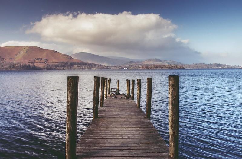 Pier on Derwent