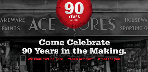 Ace Hardware Corporation is celebrating its 90th anniversary this year