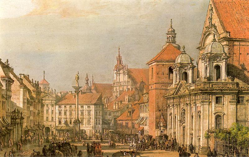 十八世纪华沙风景画3