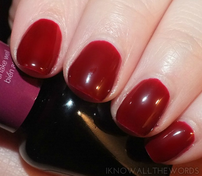 Sally Hansen Gel Polish Red Zin