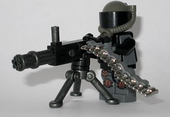 Stationed Machine Gun