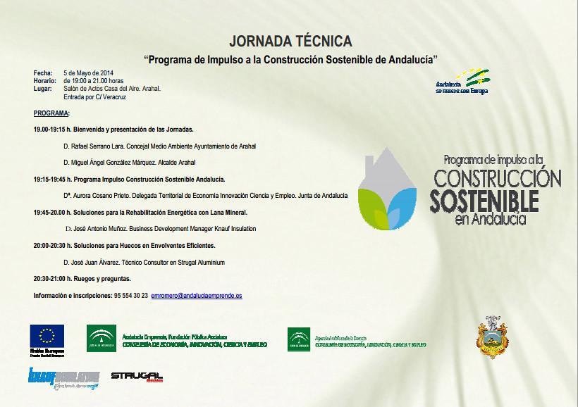 AionSur 13896738527_3b37149b0c_b_d El 'Programa de Impulso a la Construcción Sostenible de Andalucía' llega a Arahal Medio Ambiente