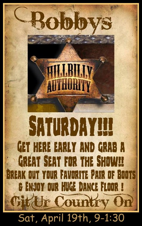 Hillbilly Authority 4-19-14