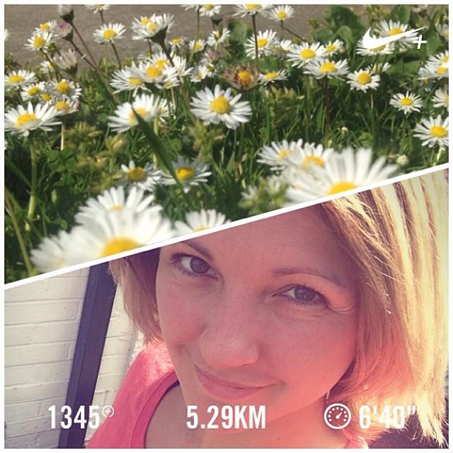 Another sunny run! 5K challenge! #nikeplus #werunformatthias #afterrunselfie #runnerscommunity #5kchallenge