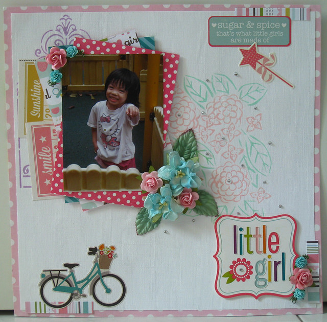 """Little Girl"" Layout"