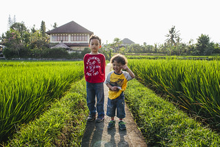 Family Photography | Penestanan Rice Field | Ubud | Bali | by wazari