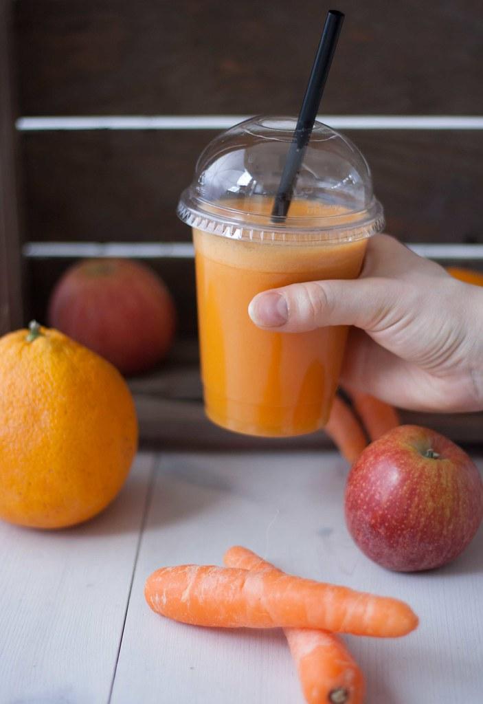 Gulerodsjuice med æble og appelsin (10)