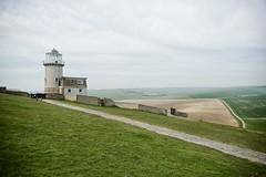 Belle tout lighthouse, Seven Sisters 2014-04-17