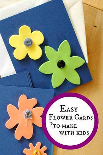Easy Flower Cards
