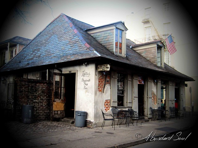 Jean Lafitts Blacksmith Shop w Watermark