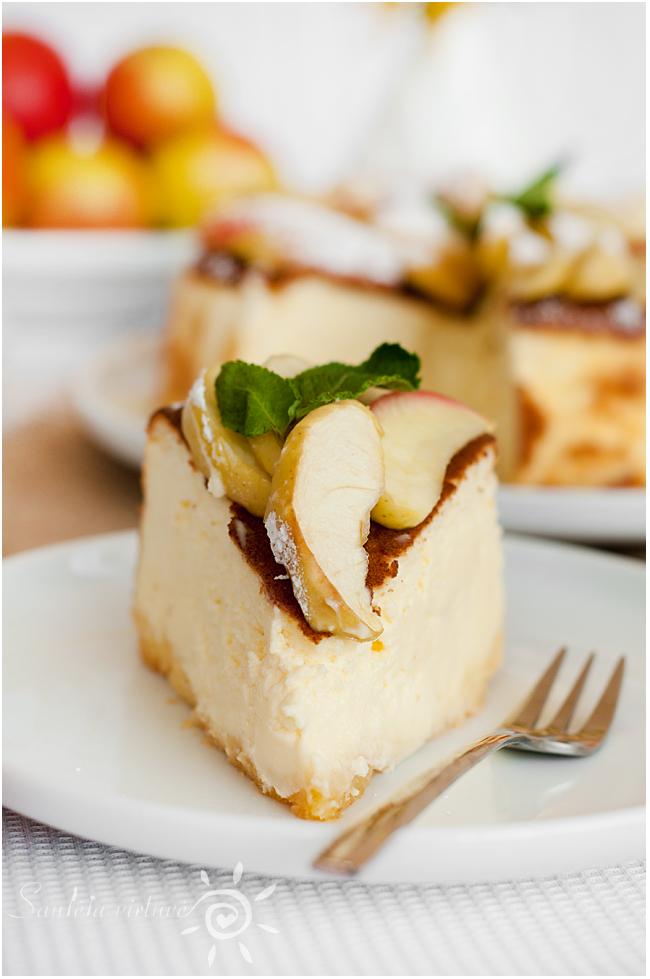 Sūrio pyragas su obuoliais (7)