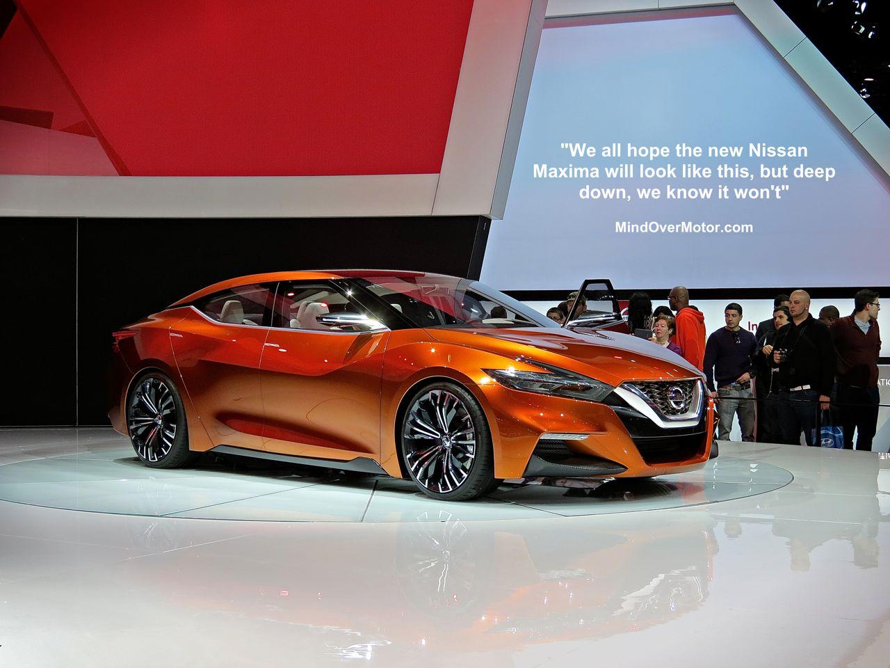 NYIAS 3 Nissan Maxima Concept