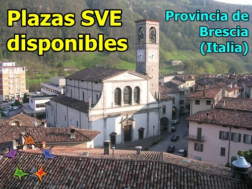 Plazas SVE en la provincia de Brescia