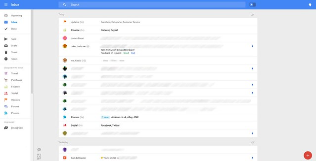 Google is testing new web-based Gmail features