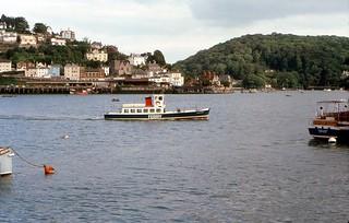 Kingswear From Dartmouth - 1978