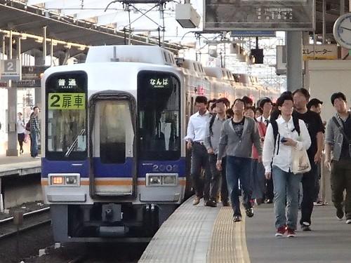 日本的火車在大阪 和 鉄道撮影人 - naniyuutorimannen - 您说什么!