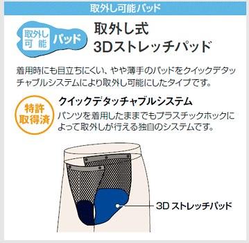 取り外し式3Dストレッチパッド