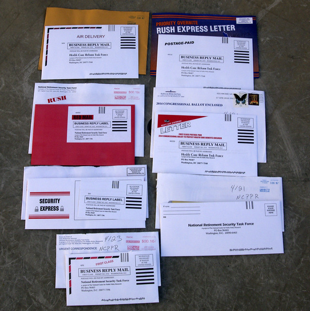 7 from NCPPR junk mail