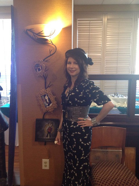 Steampunk worlds fair art show