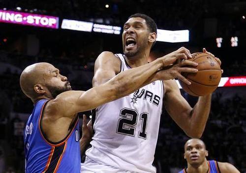 NBA Playoffs – San Antonio Spurs dominates, Oklahoma Thunder in stress