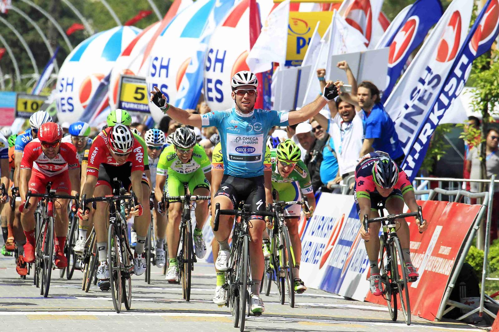 TUR Stage 2 Cavendish wins