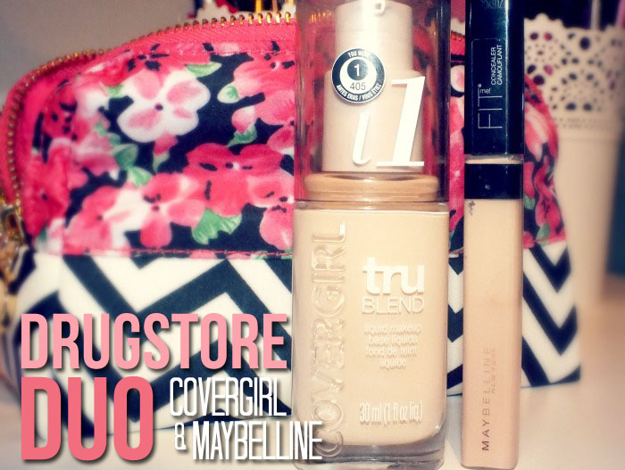 Drugstore Duo- CoverGirl TruBlend Foundation and Maybelline Fit Me Concealer (1)