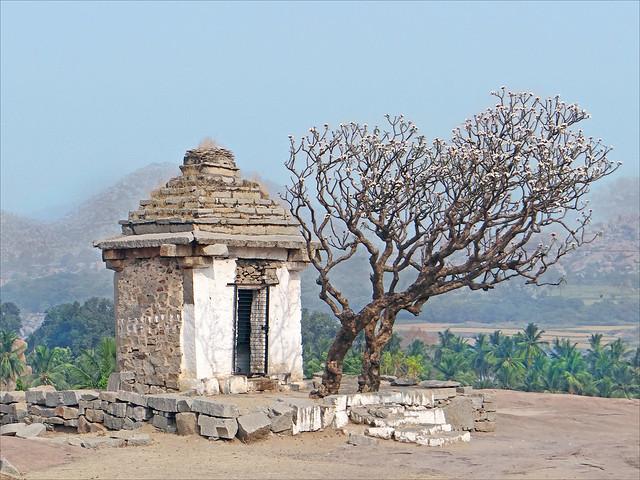 Templo de Hanuman. Hampi. India.