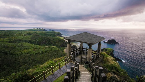 台北 台湾 日出 骑行 公路 自由行 绿岛 环岛